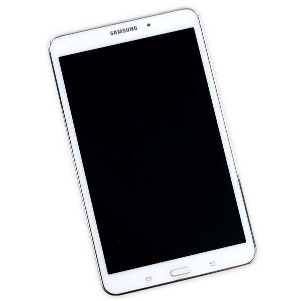 Galaxy Tab 4 8.0 Display Assembly / White / A-Stock