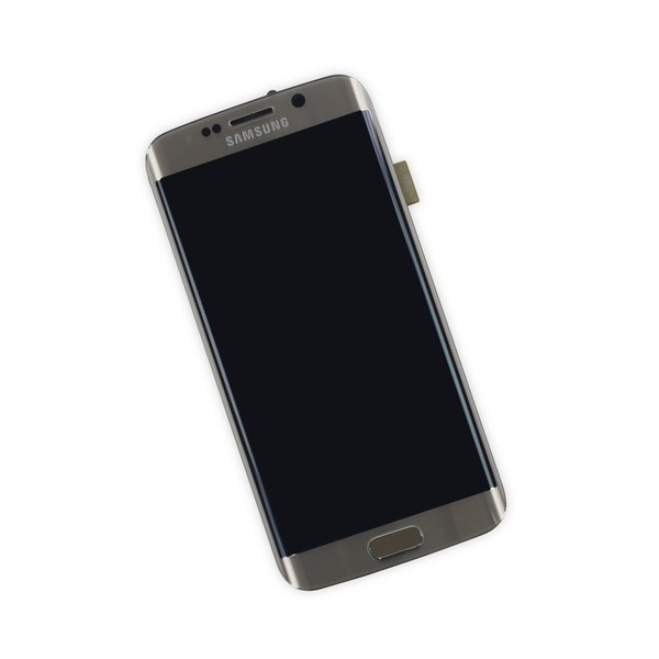 Galaxy S6 Edge LCD Screen and Digitizer Assembly (GSM) / Gold / New