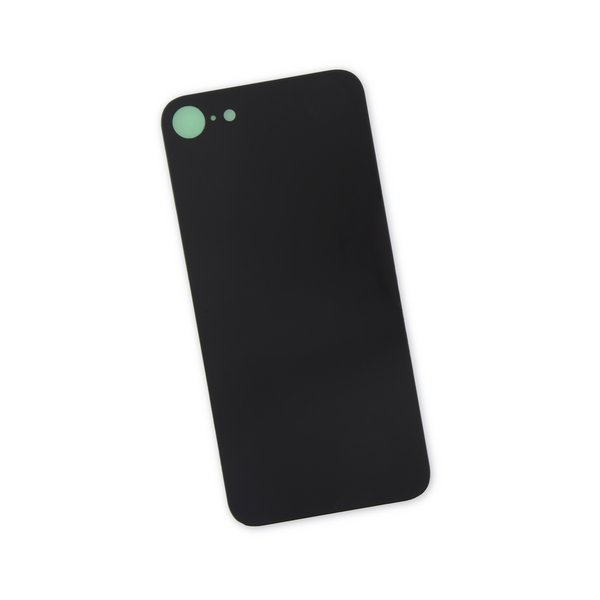 iPhone 8 Aftermarket Blank Rear Glass Panel / Black