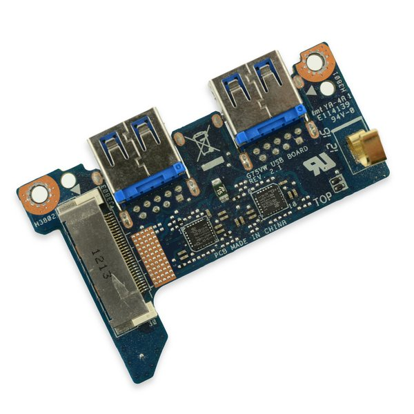 Asus G75VW-DS73-3D I/O Board