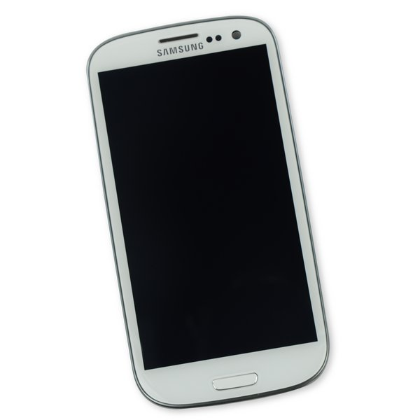 Galaxy S III LCD Screen and Digitizer Assembly (International I9300) / White