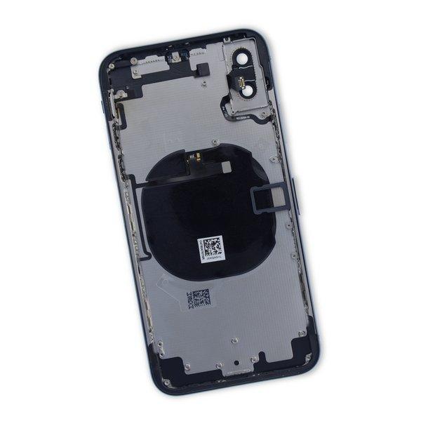 iPhone X Aftermarket Blank Rear Case / Black