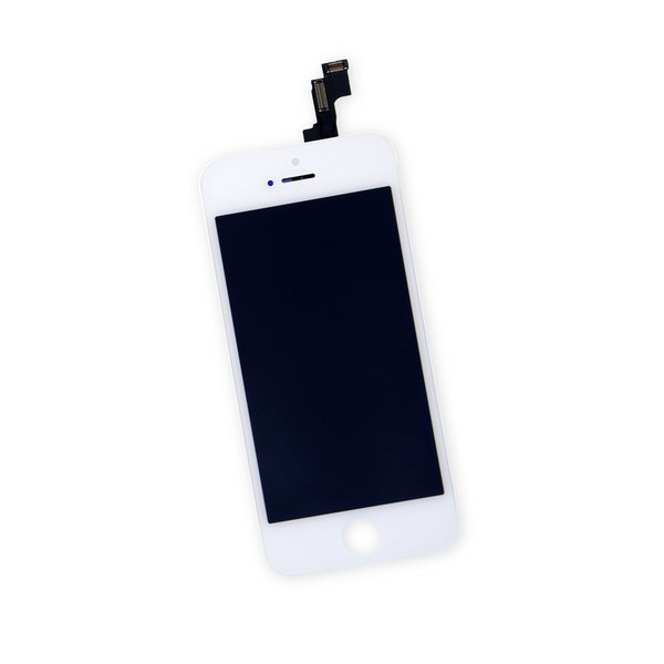 iPhone 5s LCD and Digitizer (5-Pack) / White