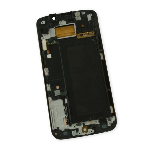 Galaxy S6 Edge LCD Screen and Digitizer Assembly (GSM) / Gold / A-Stock