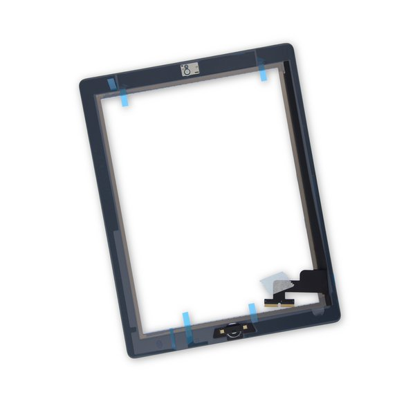 iPad 2 Screen Digitizer Assembly / New / Part Only / White