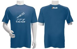 "iFixit ""Fix Macs Yourself"" T-Shirt"