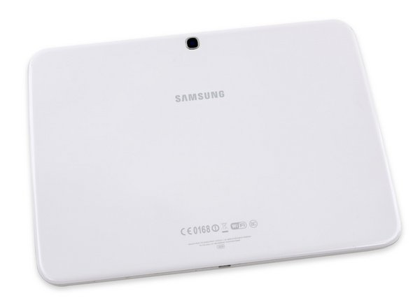 Galaxy Tab 3 10.1 Rear Case / White / A-Stock