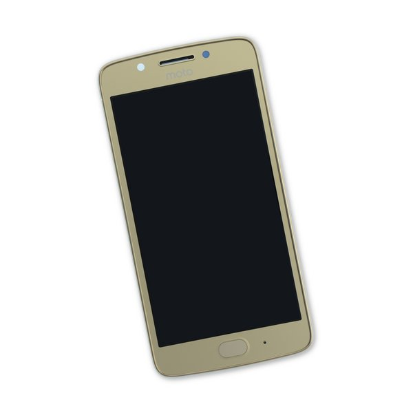 Moto G5 Screen / Gold / Part Only