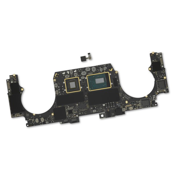 "MacBook Pro 15"" Retina (Mid 2019) 2.6 GHz Logic Board, Radeon Pro 555X, with Paired Touch ID Sensor / 16 GB / 256 GB SSD"