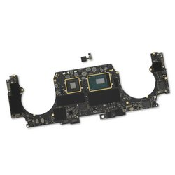 "MacBook Pro 15"" Retina (Mid 2019) 2.6 GHz Logic Board, Radeon Pro 555X, with Paired Touch ID Sensor / 16 GB / 256 GB SSD"