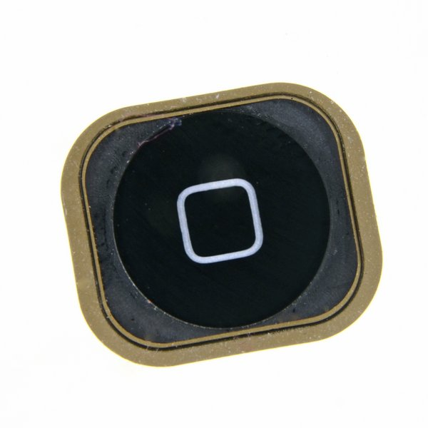 iPhone 5 and 5c Home Button / Used / Black / Part Only