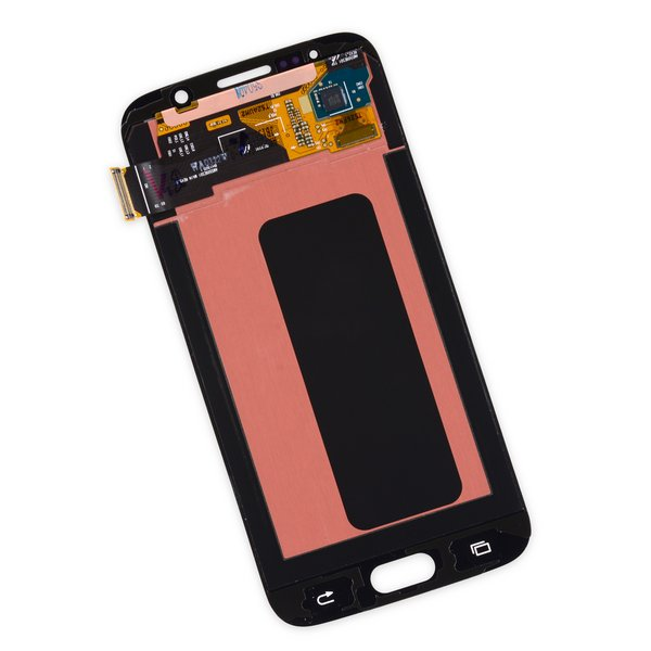 Galaxy S6 LCD Screen and Digitizer / New / White / Part Only