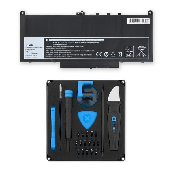 Dell Latitude 14 E7470 Ultrabook Replacement Laptop Battery / Fix Kit