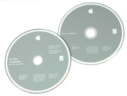 "MacBook Pro 15"" (Model A1226) Leopard Restore DVDs"