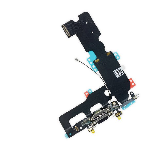 iPhone 7 Plus Lightning Connector Assembly / Black / New / Part Only