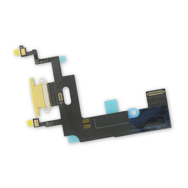 iPhone XR Lightning Connector Assembly / Yellow