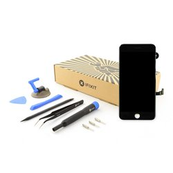 iPhone 7 Plus LCD Screen and Digitizer Full Assembly / New / Fix Kit / Black