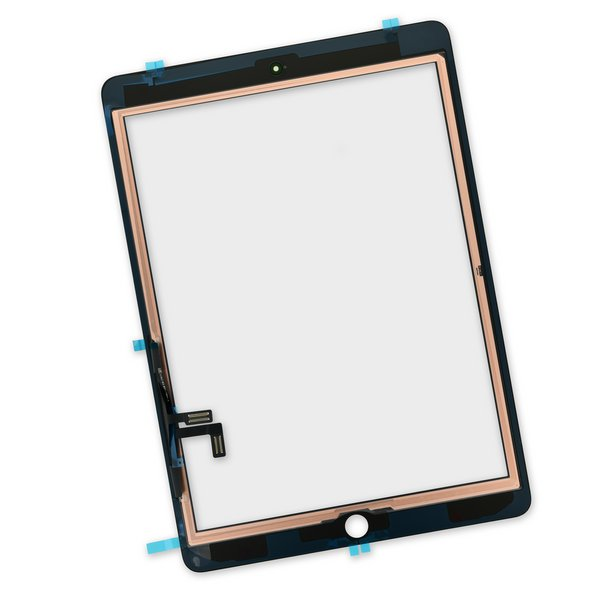iPad 5 Screen Digitizer / New / Part Only / Black / With Adhesive Strips