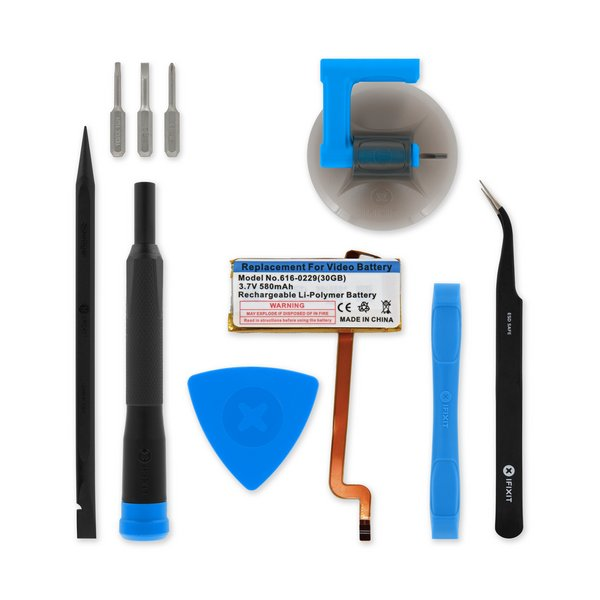 iPod Video 30 GB Replacement Battery / Fix Kit
