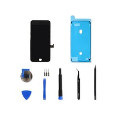 iPhone 8 Plus LCD Screen and Digitizer Full Assembly / Black / Fix Kit