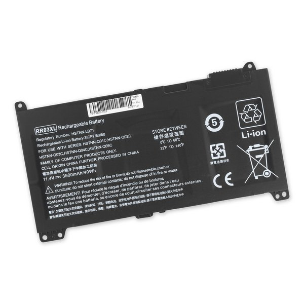 HP RR03XL Replacement Laptop Battery / Part Only
