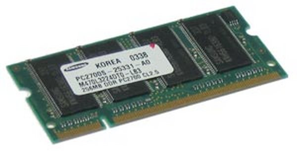 PC2700 256 MB RAM Chip