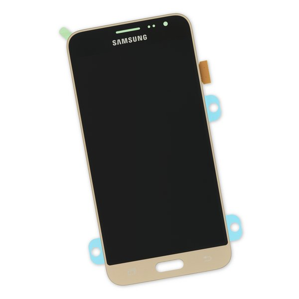 Galaxy J3 (2016) Screen / Part Only / Gold / New