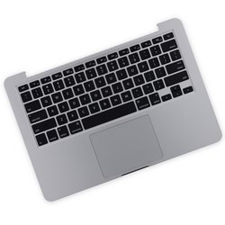 "MacBook Pro 13"" Retina (Late 2013-Mid 2014) Upper Case Assembly / A-Stock / With Trackpad and Battery"