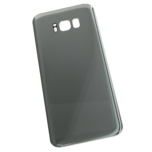 Galaxy S8+ Rear Glass Panel/Cover / Part Only / Silver
