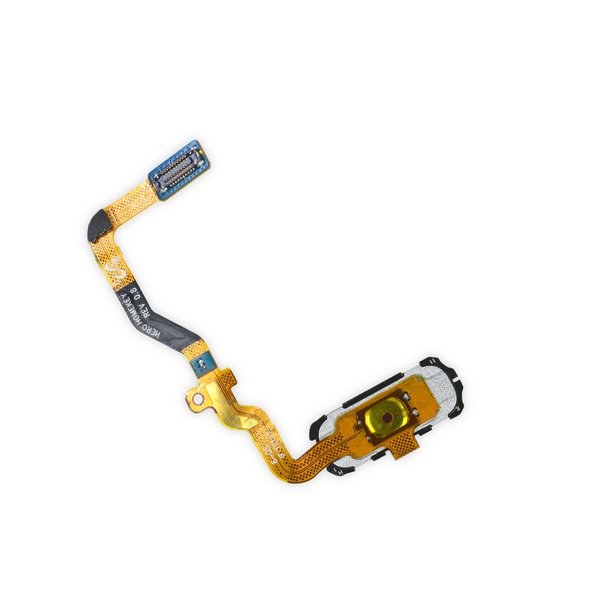 Galaxy S7 Home Button and Cable Assembly / Gold / New