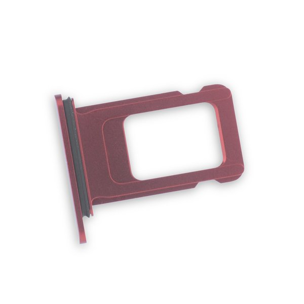 iPhone XR Single SIM Card Tray / Red