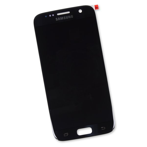Galaxy S7 Screen and Digitizer / Black / Part Only