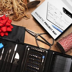 Pro Tech Toolkit + Magnetic Project Mat Bundle