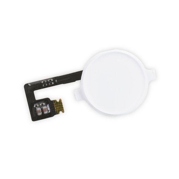 iPhone 4 Home Button Assembly / New / White
