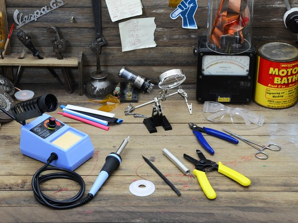 Learn how to repair with these tools