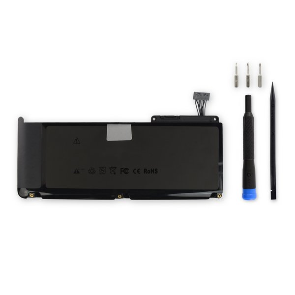 "MacBook 13"" Unibody (A1342 Late 2009-Mid 2010) Replacement Battery / New / Fix Kit"