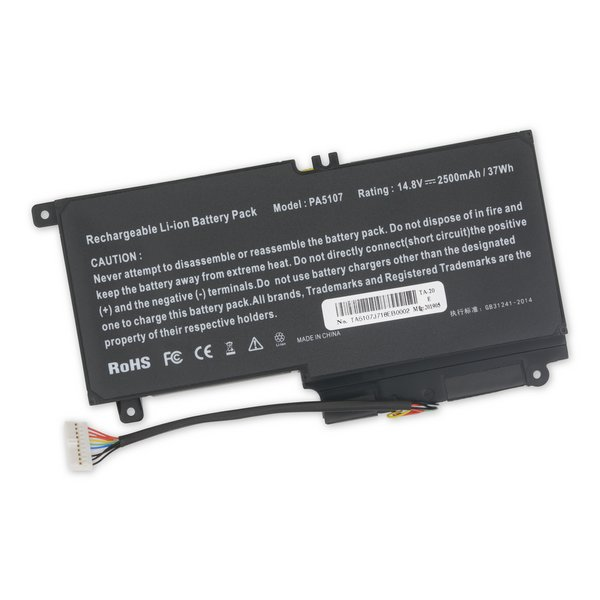Toshiba PA5107U-1BRS Replacement Laptop Battery / Part Only
