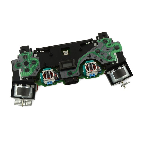 DualShock 4 Controller Motherboard and Midframe Assembly (JDM-030)
