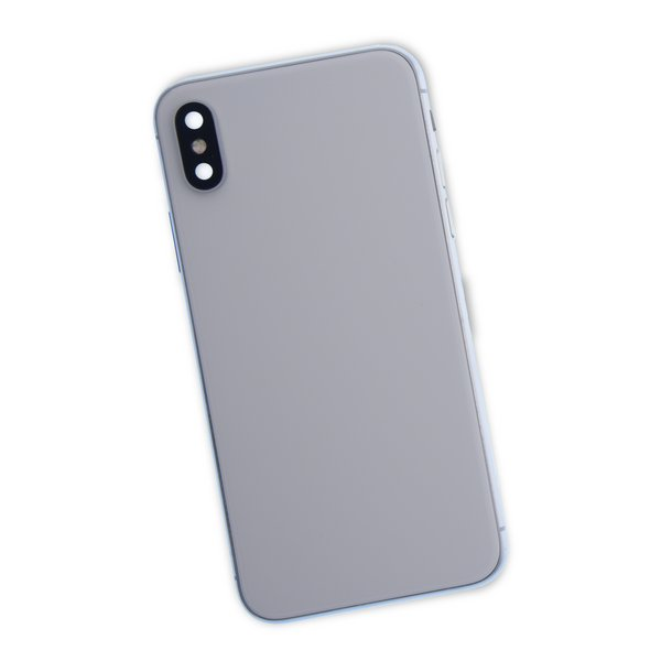 iPhone X Aftermarket Blank Rear Case / White