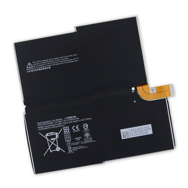 Surface Pro 3 Battery