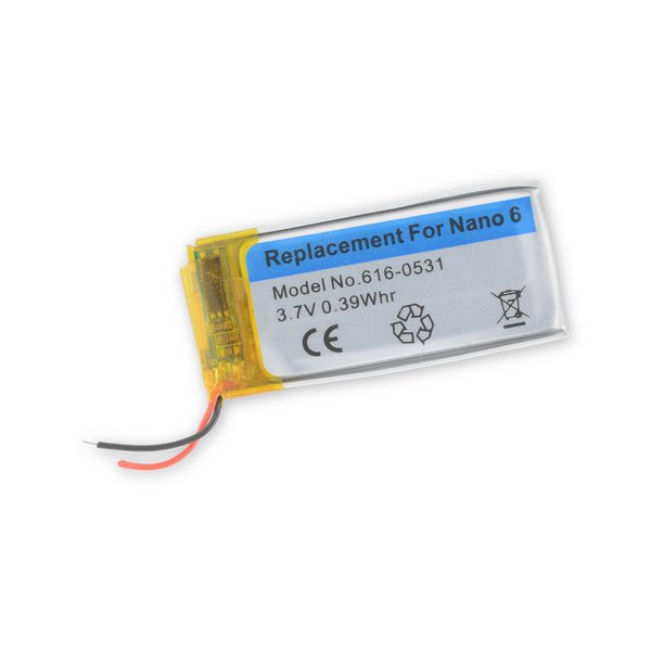 iPod nano (6th Gen) Replacement Battery