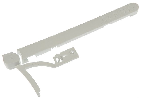 Xbox 360 Optical Drive Tray Cover & Eject Button / White