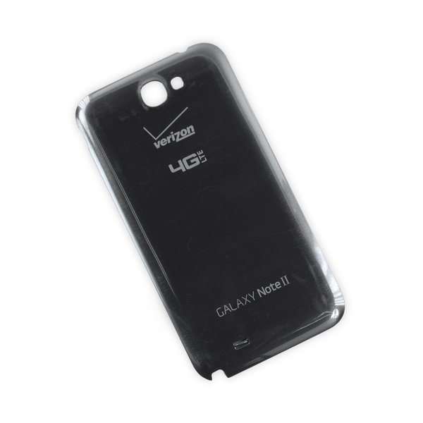 galaxy note ii battery cover verizon gray a stock ifixit. Black Bedroom Furniture Sets. Home Design Ideas
