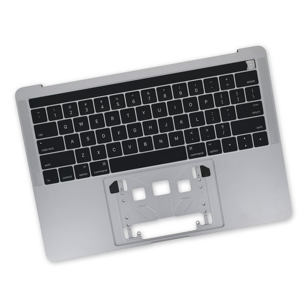 "MacBook Pro 13"" Retina (Touch Bar, Late 2016-2017) Upper Case / New / Dark Gray"