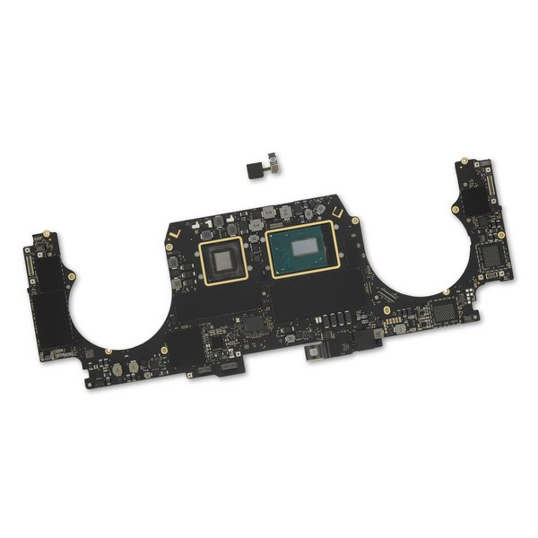 "MacBook Pro 15"" Retina (Mid 2018) 2.2 GHz Logic Board, Radeon Pro 555X, with Paired Touch ID Sensor / 16 GB / 256 GB SSD"