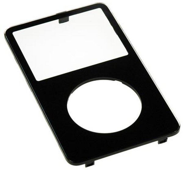 iPod Video Front Panel (Black)