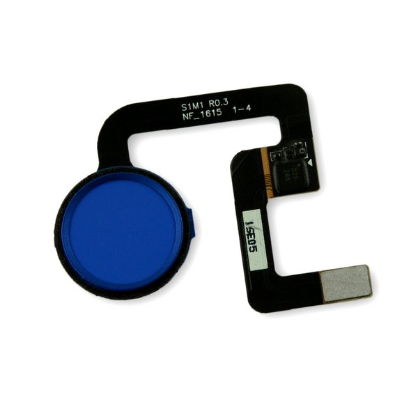 Google Pixel Fingerprint Sensor / Blue / New